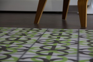 Custom printed floor graphics