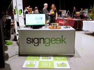 Signgeek table banner