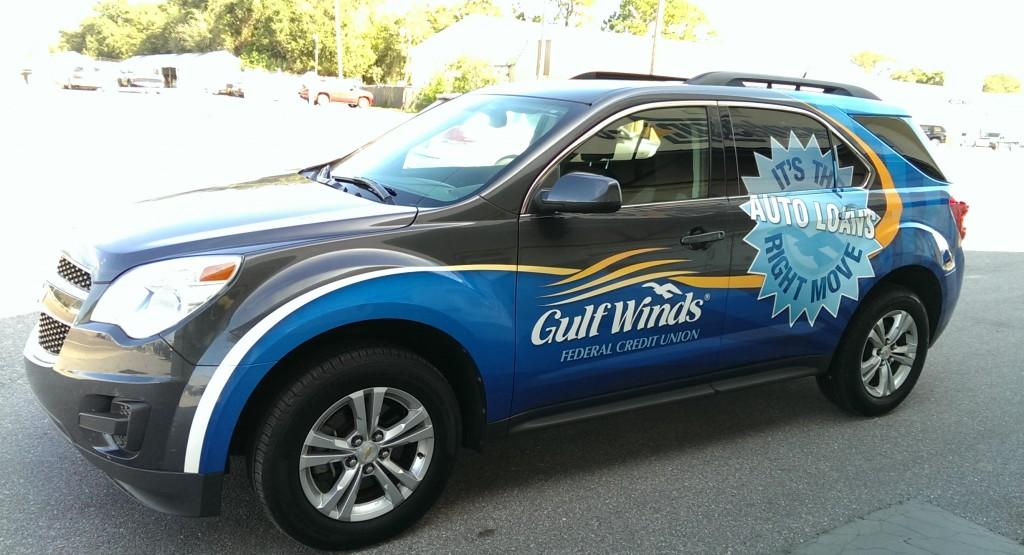 Gulf Winds Vehicle Graphics