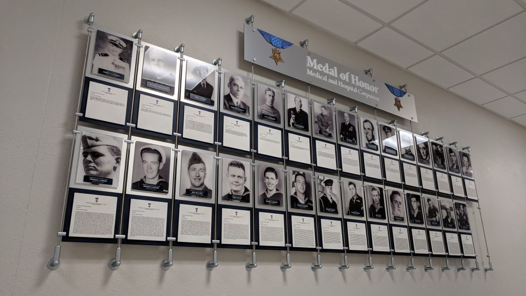 Medal of Honor Recognition Wall