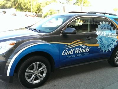 732Gulf Winds Vehicle Graphics