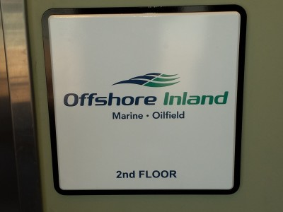 803Offshore Inland Dimensional Lettering
