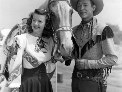 857Roy Rogers and Dale Evans Standee